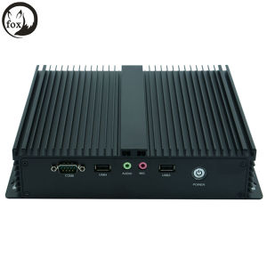 DC_12V Single Power Intel 1037u/I3/I5/I7 Full Enclosed Fanless Mini Industrial PC pictures & photos