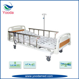 Aluminum Alloy Five Functions Electric Hospital Bed pictures & photos