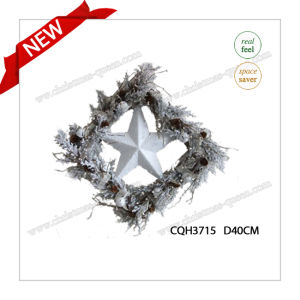 2017 New Arrival D40cm PE Party Supplies Glow Innovative Wreath pictures & photos
