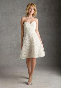 Lace Bridesmaid Fashion Dresses (FD14010) pictures & photos
