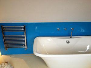 Toilet Room Splash Backboard Glass pictures & photos