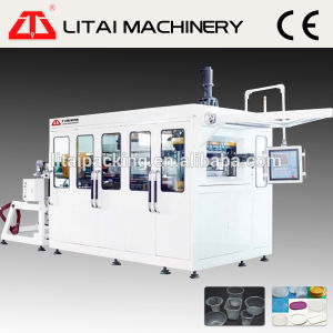 Thermoforming Machine for Plastic Disposable Cups Bowls and Lids pictures & photos