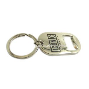 Bottle Opener Keychain Metal Keyring Stainless Steel Bottle Opener Keychain pictures & photos
