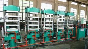 Multigang Pillar Type Curing Press