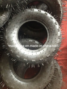 400-8 High Quality Green Tire for Wheelbarrow pictures & photos