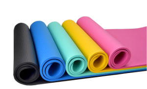 Yoga Mat Manufacturer Natural Rubber Pilates Yoga Mat pictures & photos
