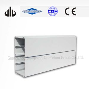Ral 9010 Powder Coated 6063 Aluminium Profiles for Decoration
