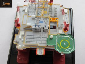 Scale Ship Model, Semi-Submersible Drilling Platform Model (JW-239) pictures & photos