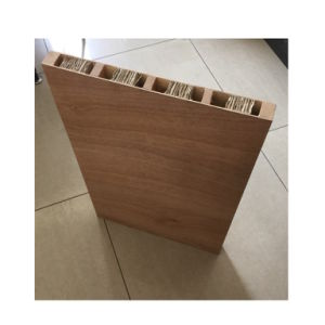 Hollow Core Sapelli Plywood Moulded Door pictures & photos