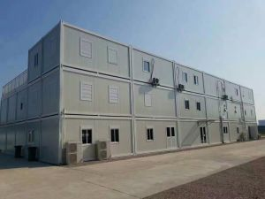 Double Stories Container House for School pictures & photos