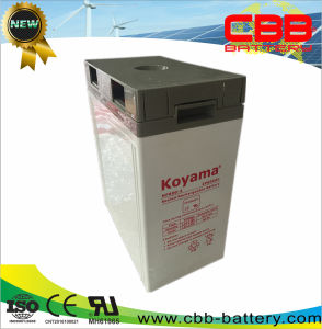 600ah 2V AGM Battery for Solar off Grid System pictures & photos