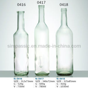 Transparent Wine Bottle / Transparent Drink Bottle pictures & photos