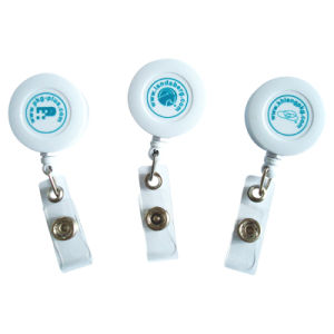 2017 Professional Manufacturer Plastic Retractable Yoyo Badge Reel pictures & photos