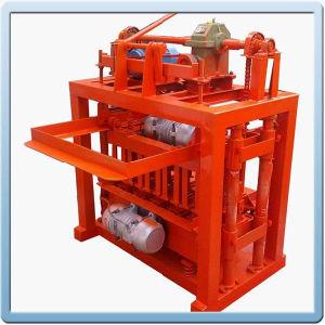 Cement Concrete Block Making Machine/ Hollow Brick Machinery (QTJ4-40)