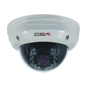 White and Black Vandalproof Dome Camera-DVI20b