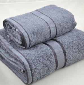 100%Cotton Solid Color Satin Band Bath Towel