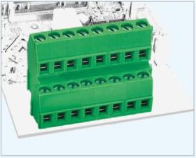 High Quality Rising Clamp Terminal Blocks (pitch 5.0/5.08mm)
