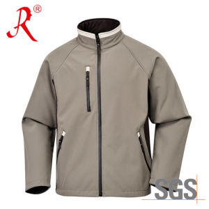 Classical Style Softshell Jacket with Waterproof (QF-401) pictures & photos