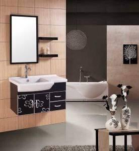 PVC Bathroom Furniture Vanity Bathroom Cabinet (W-188)