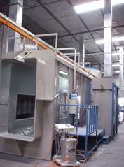 Electrostatic Powder Coating Spray Line