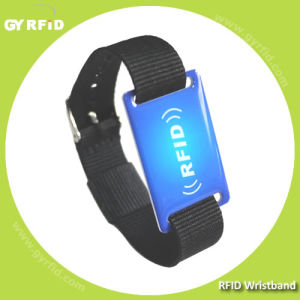 Epoxy PVC Wristband, Logo Printing with 13.56MHz Ntag, Ultralight Ics (GYRFID) pictures & photos