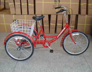 "Popular Rear 6 Speed 24"" Shopping Trike (FP-TRCY045) pictures & photos"