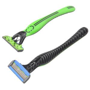 4 Blades Disposable Razor (KL-X467L) pictures & photos