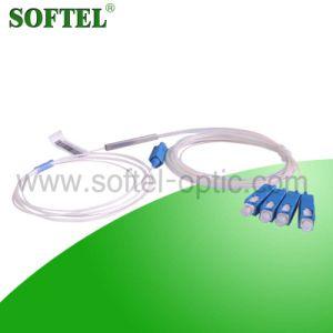 1*4 Sc/Upc Steel Tube Optic Fiber PLC Splitter pictures & photos