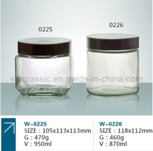 Clear Glass Jar pictures & photos
