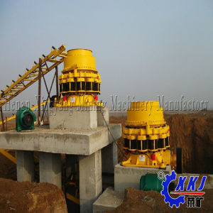 Large Capacity High Efficiency Cone Crusher Machine for Limestone, Granite, Cobble etc Hard Material pictures & photos