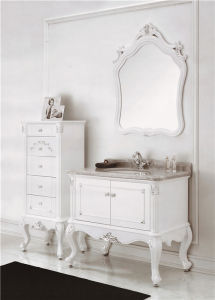 PVC Solid Wood Bathroom Cabinet Bathroom Furniture