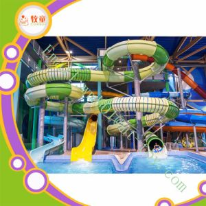 Fiberglass Water Park Slide Amusement Park Equipment for Kids pictures & photos