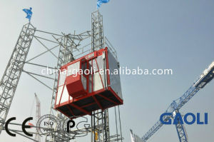 Leading Manufacture CE Approved Construction Hoist \ Building Hoist (SC200) pictures & photos