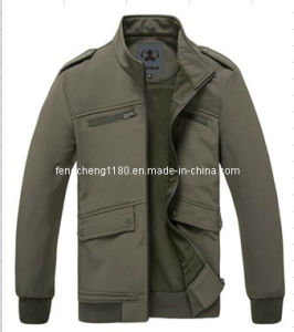 Man Leisure Softshell Jacket pictures & photos
