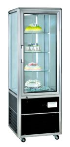 Cheering 1-Door Silvery Cake Display Cabinet Showcase (CL428FLX4) pictures & photos