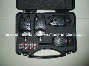 Set of 3 Carbon Digital Wireless Bite Alarms & Sounder