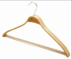 Good Quality Wooden Clothers Hanger pictures & photos