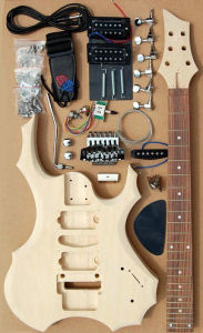 Electric Guitar Kit/Electric Guitar/Wooden Kits (GK-401) pictures & photos