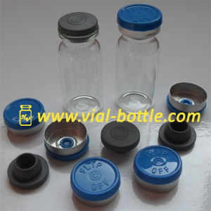 Glass Vial Whole Sets with Butyl Rubber Stopper and Flip off Caps pictures & photos