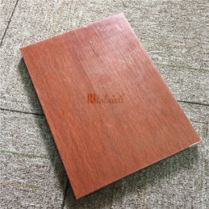 Wooden Texture Aluminum Honeycomb Panel for Wall Facade pictures & photos