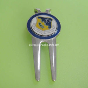 Divot Tool with Ball Marker (AS-Divot Tool-LU-119) pictures & photos