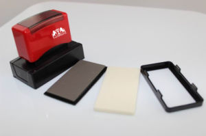 Dual Foam Pre Inked Stamp 18*43mm pictures & photos
