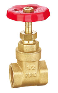 Brass Non-Rising Stem Gate Valve with Ce