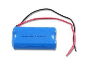 Li-ion 18650 7.2V 2000mAh Battery Pack