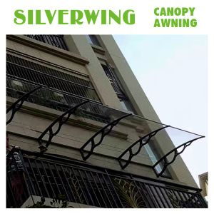 Easy DIY Polycarbonate Window Awning/Balcony Canopy /Large PC Door Canopy pictures & photos