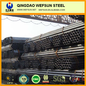 Welded Black Steel Tube pictures & photos