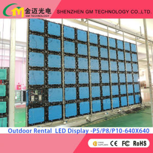 Stage Show (P3.91, P4.81, P5.95, P6.25, P8, P10) Outdoor/Indoor Full Color Rental LED Video Wall for Low Factory Price pictures & photos