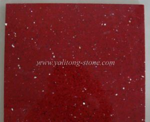 Artificial Quartz Slabs - Galaxy Red