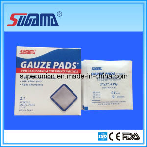 CE Standard Strile Surgical Gauze Swabs pictures & photos