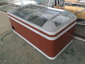 Quick Freezering Fish Chest Freezer Showcase pictures & photos